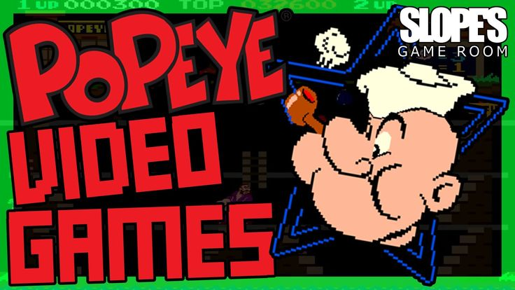 Popeye Video Games - SGR There are far more Popeye games than you would expect... ...and Japan got the best ones