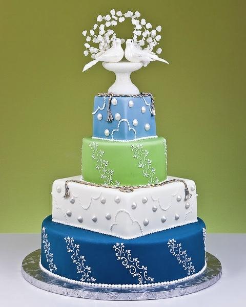 Birds Of Love Cake. <3 <3 <3