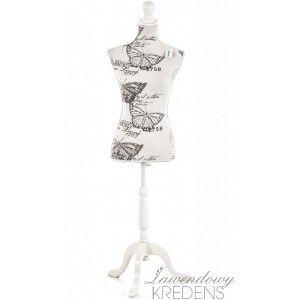 Wysoki manekin retro z serii Aluro Filatti o regulowanej wysokości. Więcej na http://lawendowykredens.pl/pl/prowansalskie-dekoracje/2716-manekin-retro.html