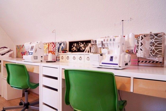 17 migliori idee su micke schreibtisch su pinterest ikea for Schreibtisch organisation