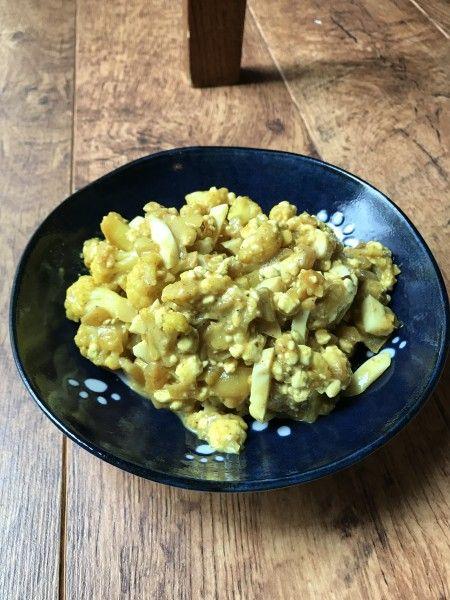 Cauliflower Curry, или карри с цветной капустой - Хаотичные заметки на чём попало