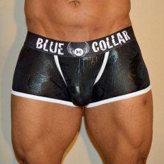 Blue Collar Elite Label Snake Charmer Trunk Underwear Black