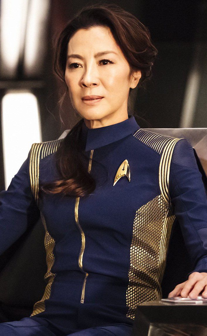 Michelle Yeoh as the new Star Trek captain?