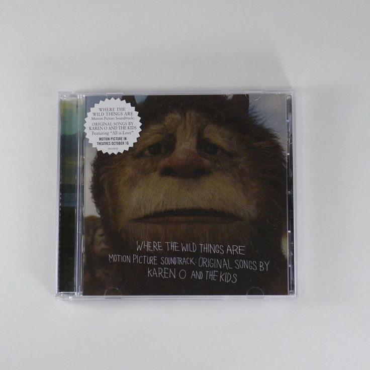 Where The Wild Things Are OST [1CD] Karen O and The Kids, Spike Jonze 2009