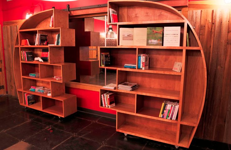 Sliding Bookcase Go Build Something Pinterest Dads