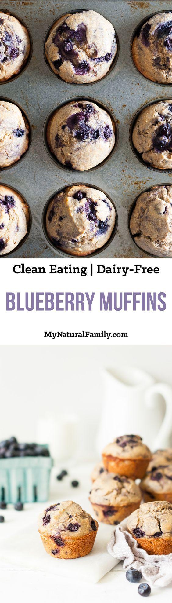 ... Blueberry Muffins op Pinterest - Muffins, Bosbessen en Zuiver Eten