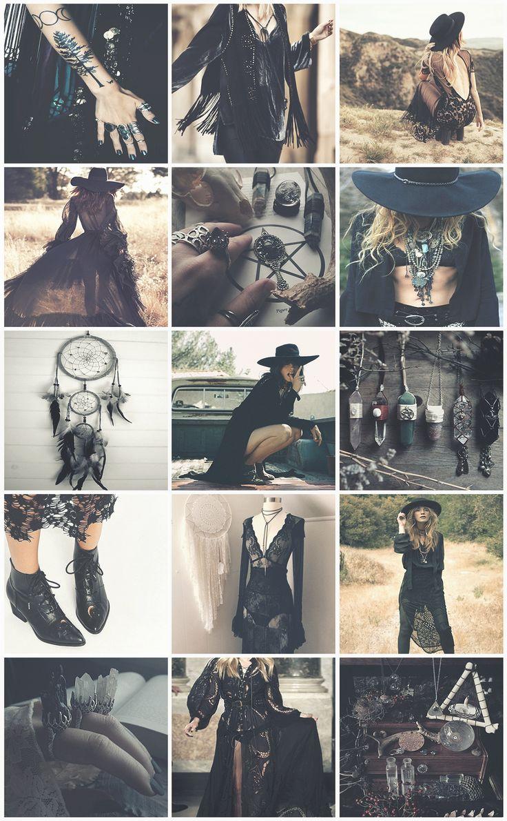 @BlackC☮ral4y☮u ∆❤️☮❤️✌︎☯♁❤♥•ღ✿ڿڰۣ(̆̃̃☼..*・·̩.˖✶.✿ ★~(◡﹏◕✿)☾✿*´¨`✿⊱╮∆.Boho Witches Series VIII - Goth aesthetic
