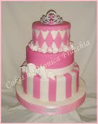 decoracion de tortas rosa y blanco - Buscar con Google