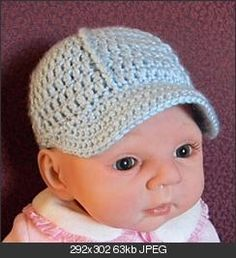 I LOVE how this little hat pattern looks!!! free pattern for newborns. Also check out this site for a ton more free patterns: http://www.crochetpatterncentral.com/directory/baby_hats.php