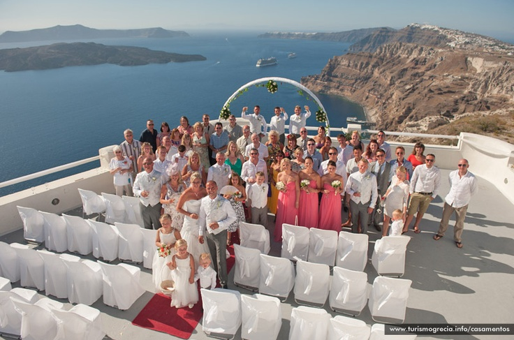 Maravilhoso  #Casamento em Santo Wines -  #Santorini