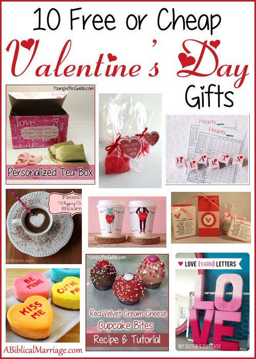 10 free or cheap valentines day gifts