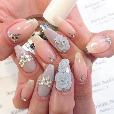 30 Best 3d Acrylic Nail Designs 2018 With Images Simple Nail