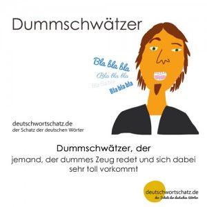 Dummschwätzer_Deutsch_lernen_deutschwortschatz_Galerie
