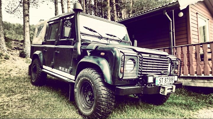 Eirik Johansen's very nice Td5 110 DCPU from Lyngseidet, Norway. My Land Rover has a Soul, MLRHAS, Land Rover Book