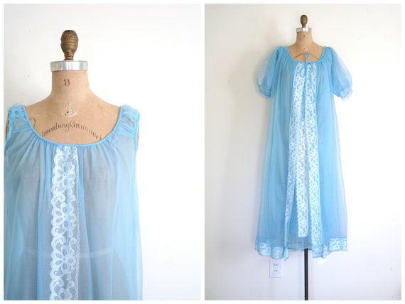 robe de nuit vintage - etsycom