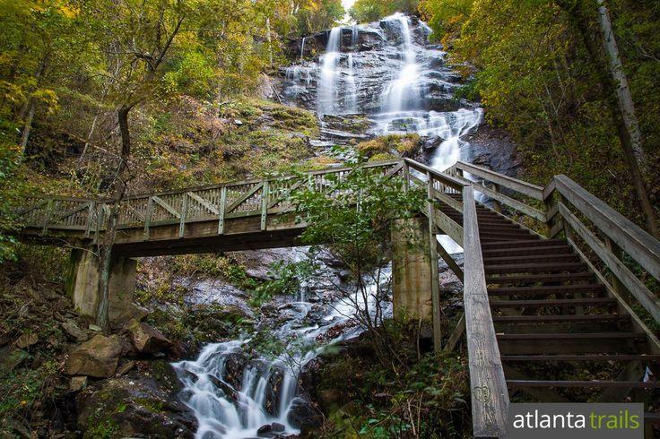 Amicalola Falls: Hiking to Georgia's Tallest Waterfall - DONE!