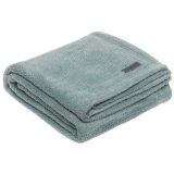 Columbia Pique Coral Fleece Throw, Water (Kitchen)By Columbia
