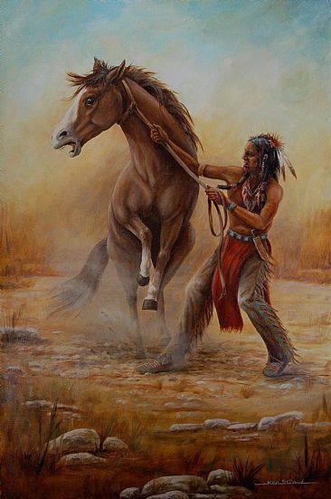 Wild Mustang ~ Art by Ken Stroud                              …