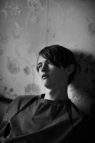 Boys by Girls Magazine . Model Robbie Mckinnon  Photographer Cecilie Harris Stylist David Nolan  make-up Carol Morley