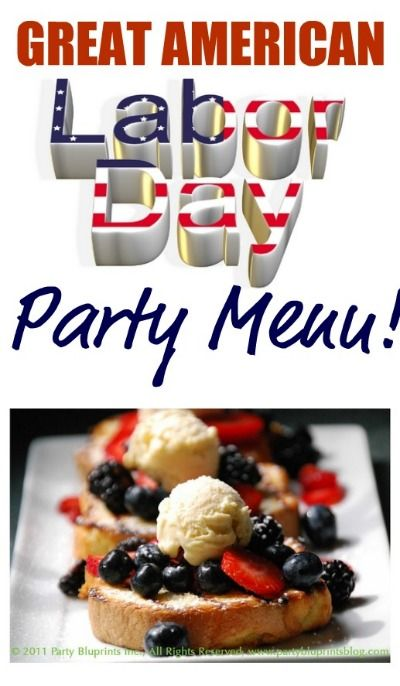 good memorial day menus