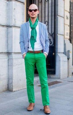 Coloured pants - trendiest trend