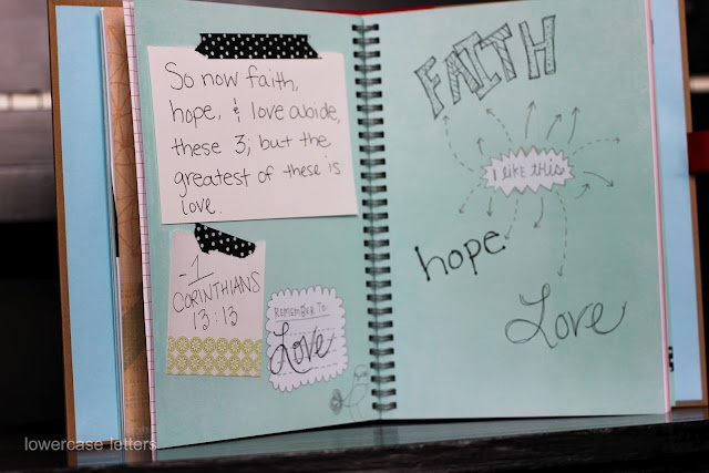 Scripture Smash Book - OK...I LOVE THIS!!! I am so doing this for my kids!!! This is perfect....and I may even have Ke'olani and Josiah make their own with their memory verses from school this year too!!! I'm telling you.....I absolutely LOVE this idea!!!
