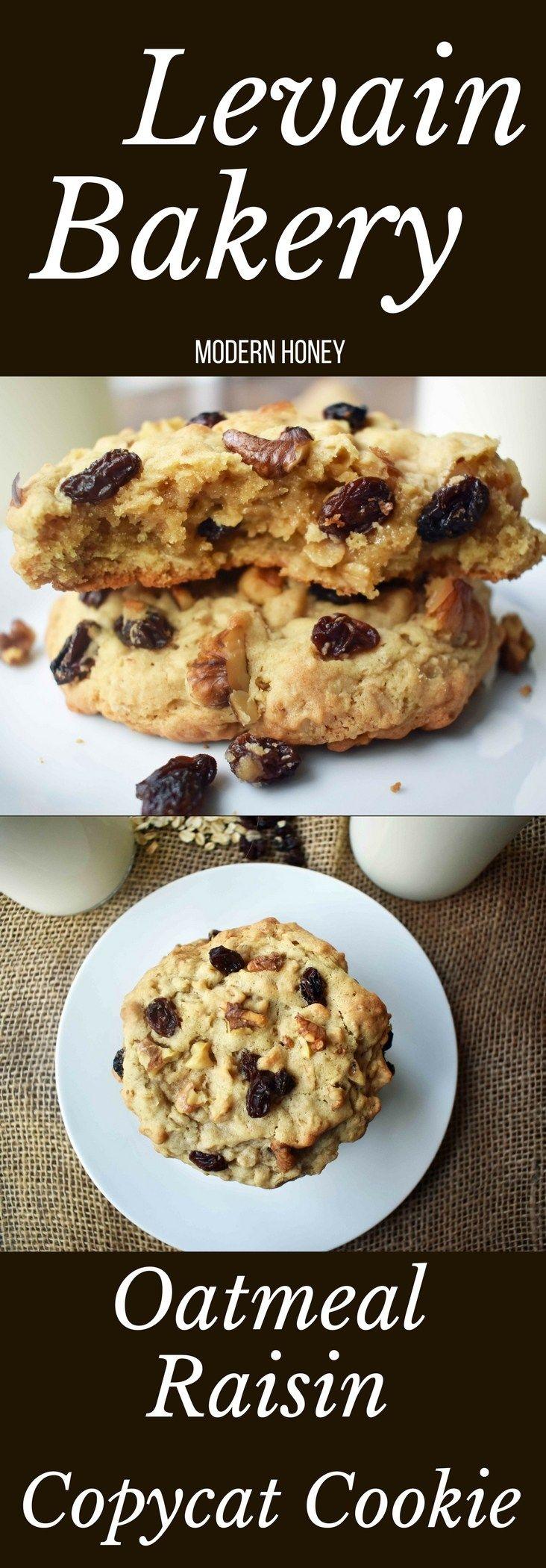 Levain Bakery Oatmeal Raisin Cookies. The ORIGINAL Levain Bakery Copycat Oatmeal Raisin Cookie by Modern Honey. Soft and chewy oatmeal raisin cookie from the popular New York City bakery -- Levain Bak(Bake Cheesecake New York)