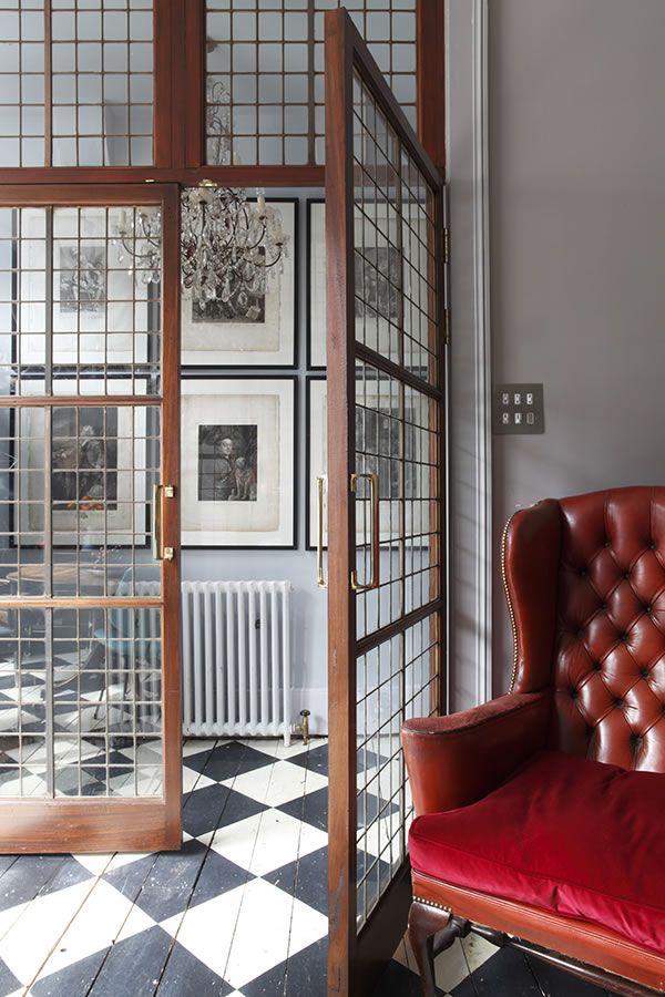 Doors.~Shaun Clarkson's House (James Balston photo)
