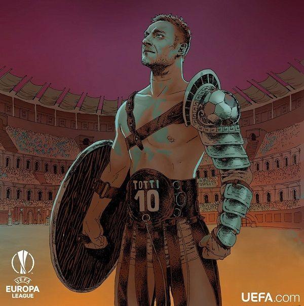 Świetne zdjęcie z legendą AS Romy • Francesco Totti gladiatorem • Najlepsze memy piłkarskie na dodajzdjecie.funfootball.pl • Zobacz >> #totti #memes #football #soccer #sports #pilkanozna #futbol