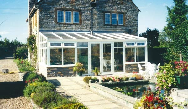 pictures of sun lounge conservatories - lean-to conservatory photographs