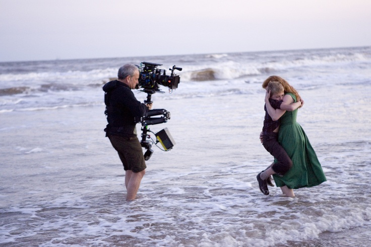 Terrence Malick and Jessica Chastain making The Tree of Life