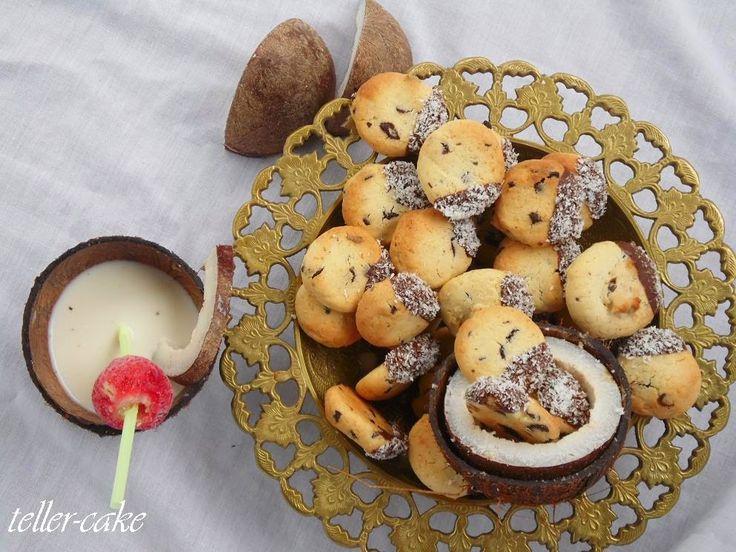 teller-cake: Bounty keksz - Blogóstoló 20-ra