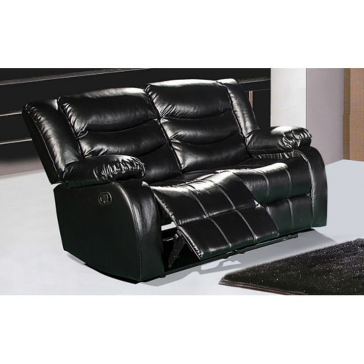 Meridian Furniture Gramercy Leather Reclining Loveseat - 644BL-L