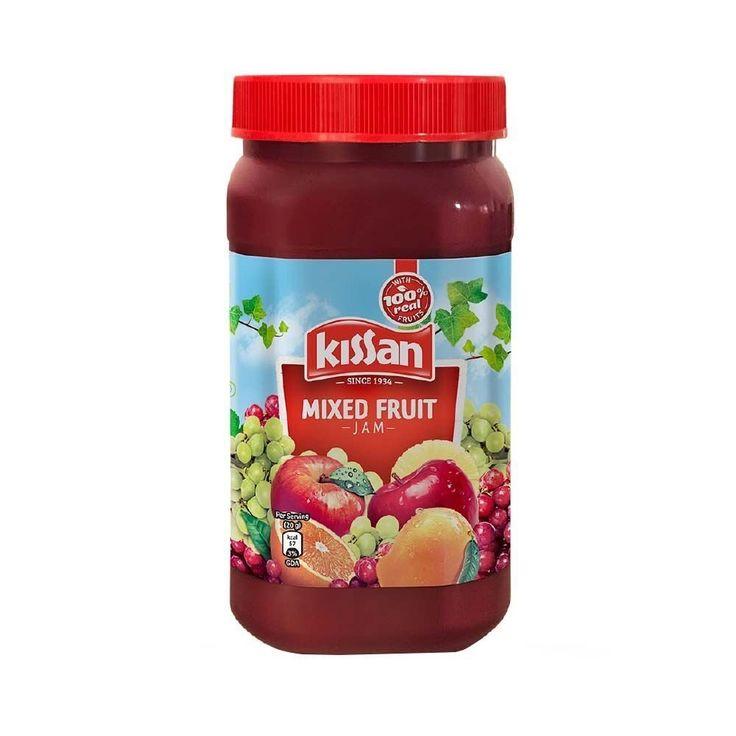 Kissan Mixed Fruit Jam 1 04 Kg At Rs 210 From Amazon Fruit Jam