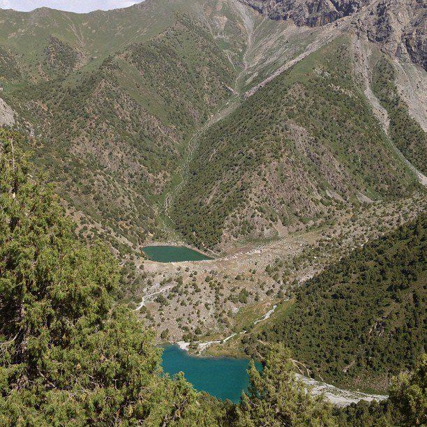 the Fann mountains