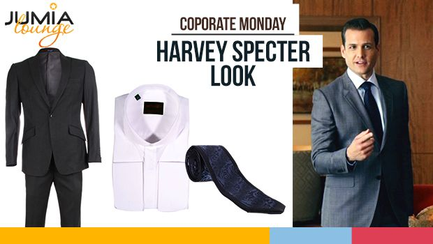 Harvey specter s look corporate monday fashion suitsusa