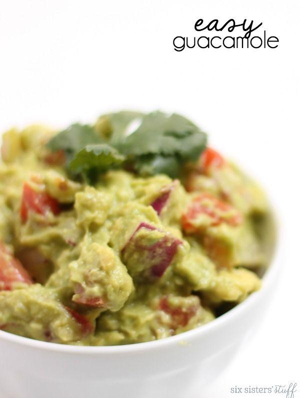 Easy Guacamole Recipe - Six Sisters' Stuff