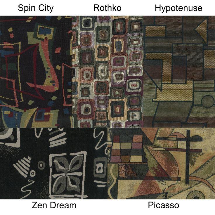 Blazing Needles Contemporary 48-inch Tapestry Papasan Cushion (Zen Dream), Multi (Cotton, Geometric)