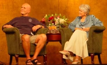 Byron Katie and Wayne W. Dyer