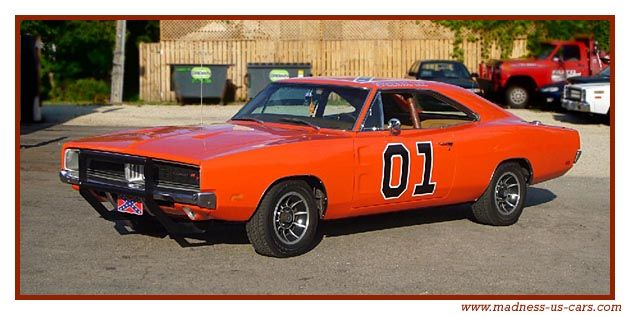 dodge charger 1969 alias General Lee