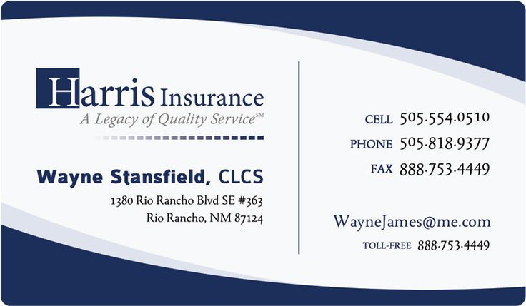 Insurance Broker Business Card httplatestbusinesscardscom