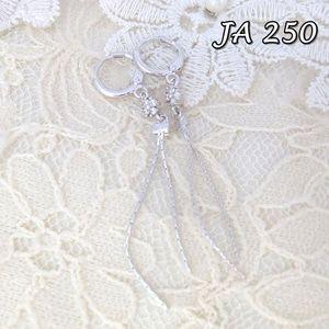 Jual Anting Xuping Perhiasan Rumbai Silver JA 250 - Siti Xuping Grosir | Tokopedia Fast Respon Pin BB : DB26F989 No Hp : 081223398889