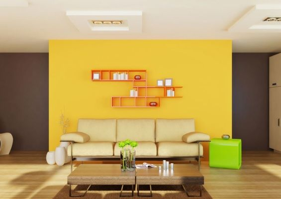 46 best PaintRight Colac Yellow Interior Colour Scheme images on - yellow living room walls