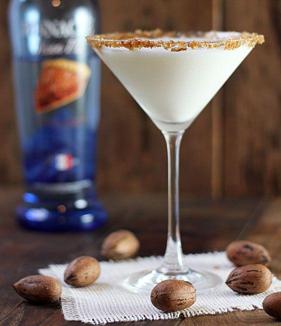 Pecan Pie Vodka Martini -Momo