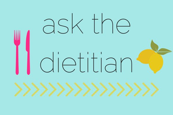"""""""Ask the Dietitian"""" Q&A series featuring @zenandspice! 