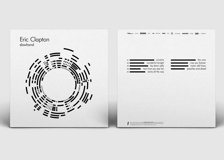 Eric Clapton - Slowhand (Album Cover/ Re-Design) #Art #Direction #Graphic #Design #Music by Masha Fee (Belgium)
