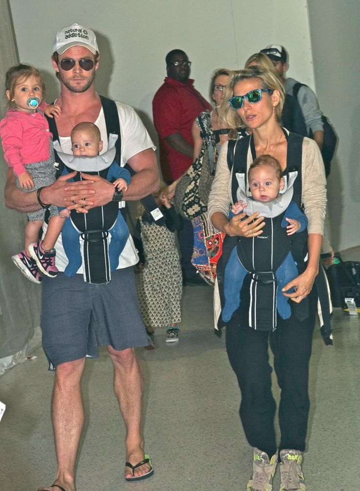 Celebrity Dad: Chris Hemsworth