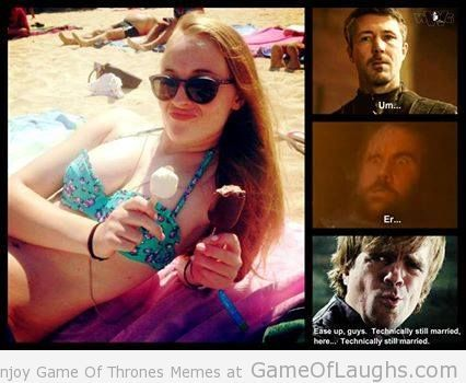 This is why Tyrion, Littlefinger and The Hound are fighting for Sansa Stark