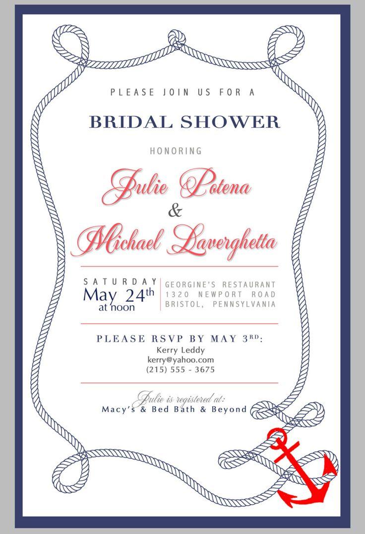 Bridal shower invitation diy printable for Bridal shower email invitations
