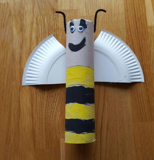 Buzzy Bee toilet roll tube